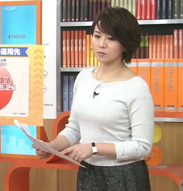 大橋未歩 巨乳は巨乳が目立つ服を着るキャプ画像(エロ・アイコラ画像)