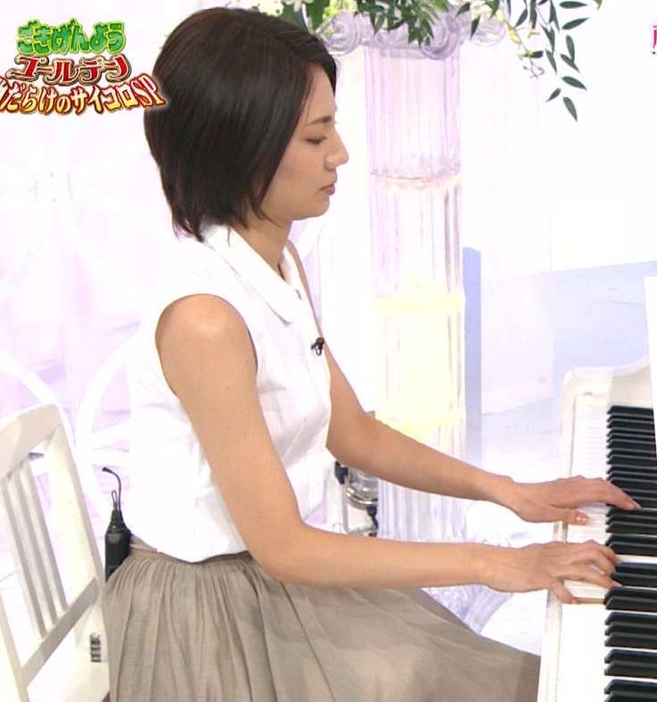 松下奈緒 ノースリーブの肌がきれいキャプ画像(エロ・アイコラ画像)