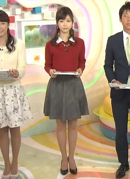 牧野結美 ミニスカートキャプ画像(エロ・アイコラ画像)