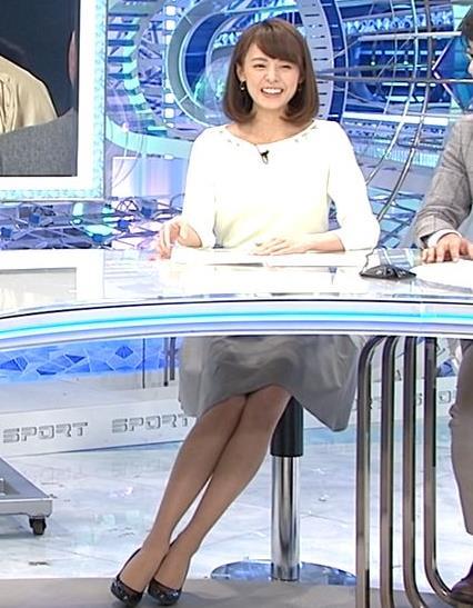 宮澤智 ミニスカ美脚キャプ画像(エロ・アイコラ画像)