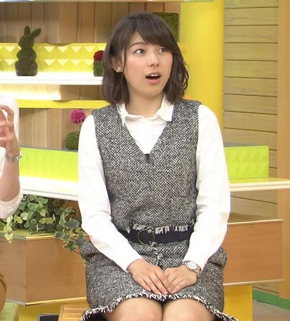 上村彩子 ミニスカのデルタゾーンキャプ画像(エロ・アイコラ画像)