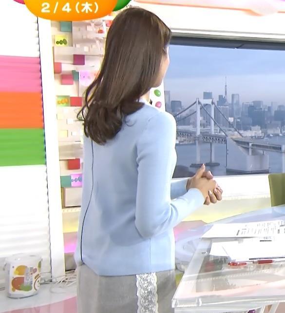 永島優美 横乳&美脚キャプ画像(エロ・アイコラ画像)
