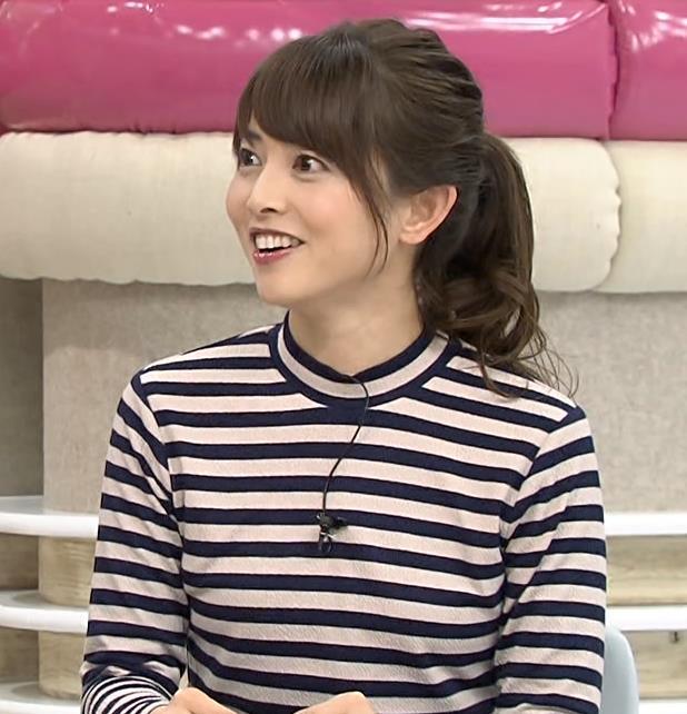 尾崎朋美 美人気象予報士 (あさチャン)キャプ画像(エロ・アイコラ画像)