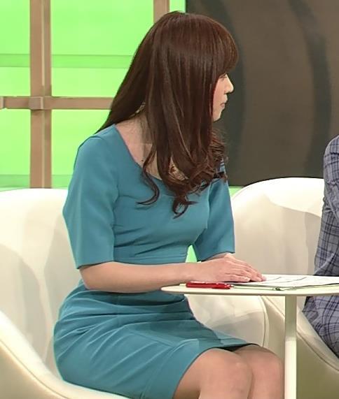 竹内優美 このタイトなワンピースはエロ過ぎ!キャプ画像(エロ・アイコラ画像)