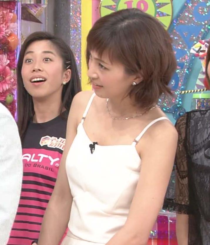 安田美沙子 肌の露出が多い(アッコにおまかせ!)キャプ画像(エロ・アイコラ画像)