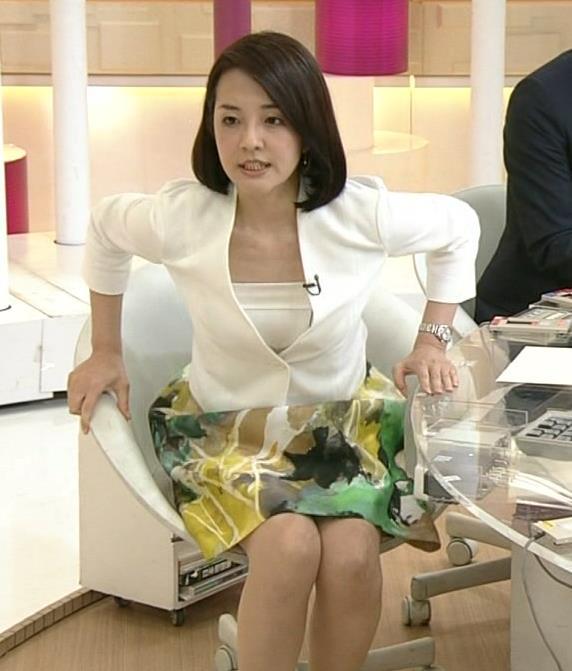 鈴木奈穂子 ミニスカ太もも&エロい胸元キャプ画像(エロ・アイコラ画像)
