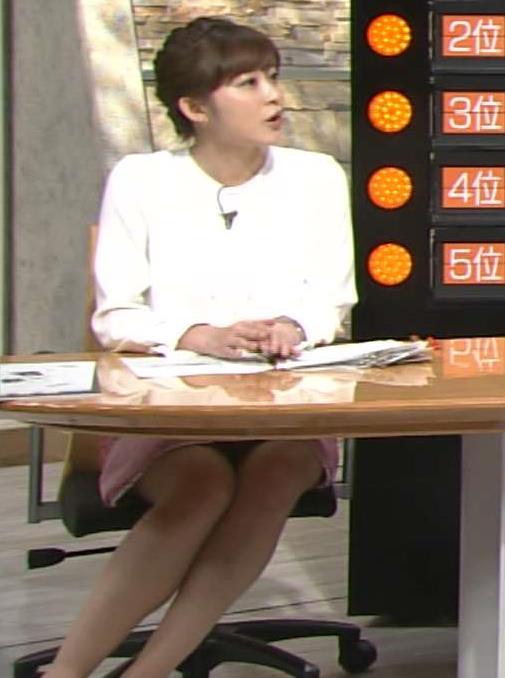 久冨慶子 太もも!パンチラ!?見えすぎの「報道ステーション SUNDAY」