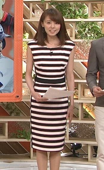 宮澤智 TBS宇内アナと衣装丸かぶり、どっちがかわいい?キャプ画像(エロ・アイコラ画像)