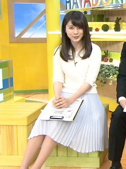 皆川玲奈 長いスカートキャプ画像(エロ・アイコラ画像)