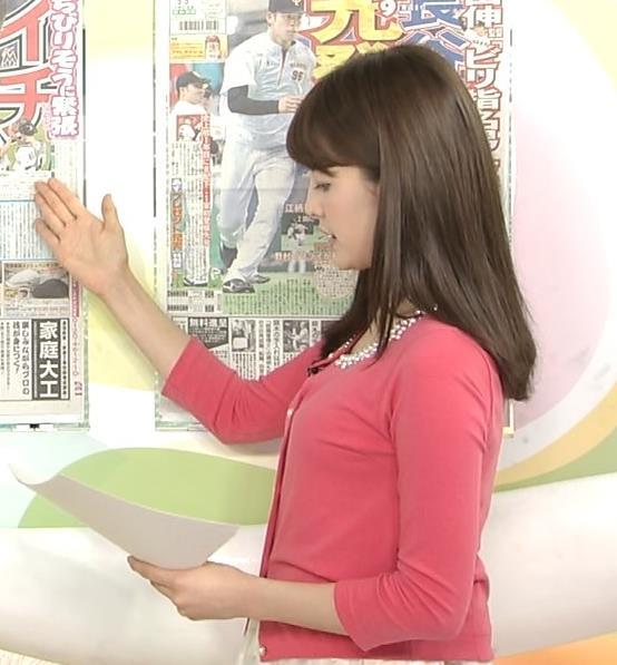 宮司愛海 横乳強調(フジテレビ女子アナ)キャプ画像(エロ・アイコラ画像)