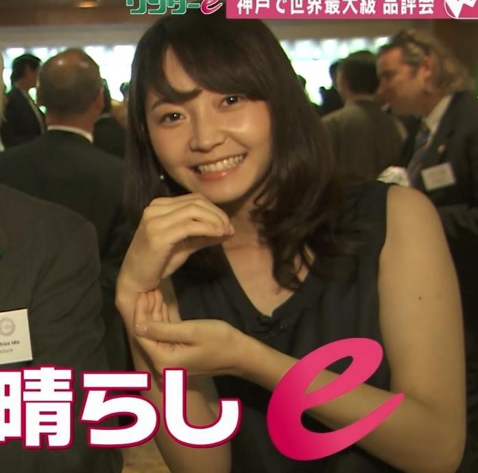 竹崎由佳 ノースリーブの衣装がエロい関西の女子アナキャプ画像(エロ・アイコラ画像)