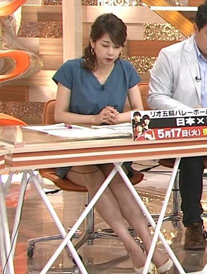 加藤綾子 太もも画像