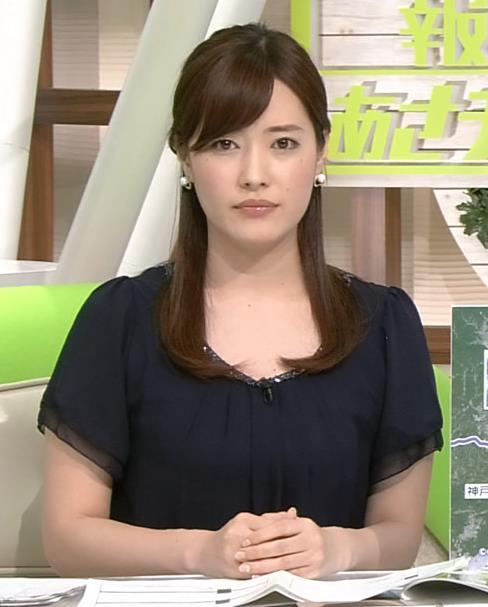 林みなほ 美人アナだけど、なんかごついキャプ画像(エロ・アイコラ画像)