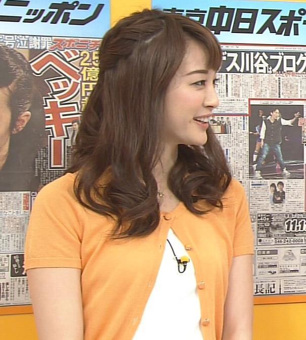 新井恵理那 『グッド!モーニング』キャプ画像(エロ・アイコラ画像)