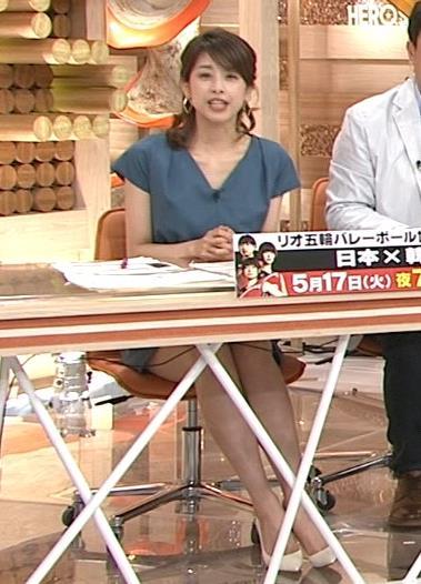 加藤綾子 太もも画像6