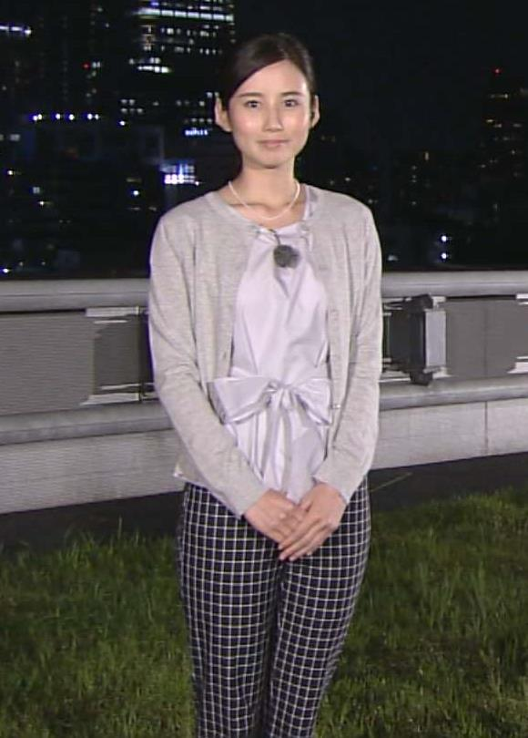 森川夕貴 報ステお天気お姉さんのピタパンキャプ画像(エロ・アイコラ画像)