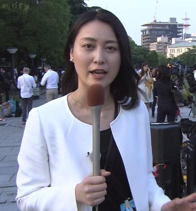 小川彩佳 サミット報道キャプ画像(エロ・アイコラ画像)