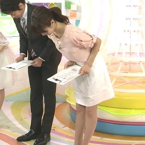 小野彩香 白いミニスカートキャプ画像(エロ・アイコラ画像)