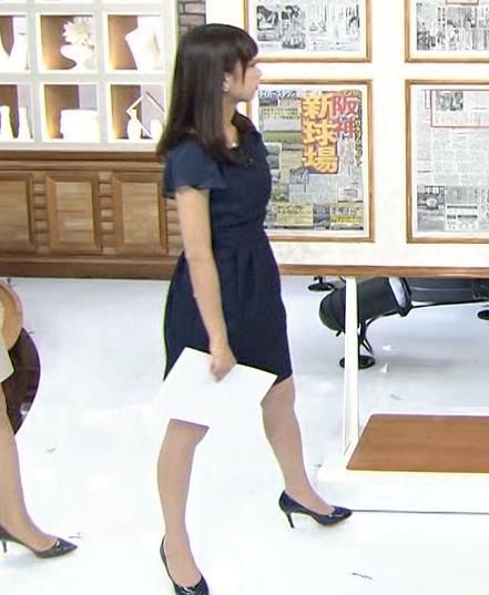 宇垣美里 紺色のワンピースキャプ画像(エロ・アイコラ画像)