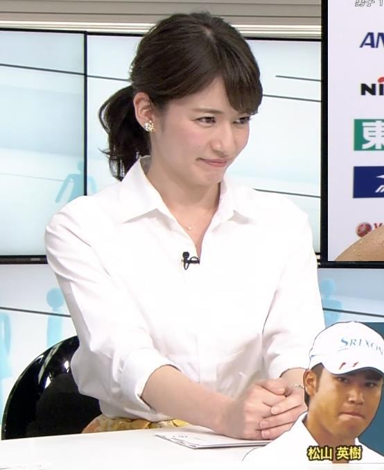 宇内梨沙 かわいくて美人な女子アナキャプ画像(エロ・アイコラ画像)
