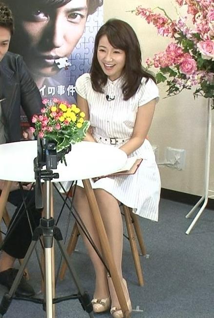 長野美郷 脚がきれいなワンピースキャプ画像(エロ・アイコラ画像)