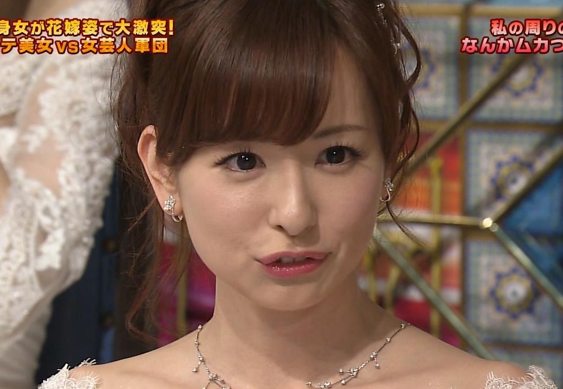 皆藤愛子 ウェディングドレス姿がかわいすぎるキャプ画像(エロ・アイコラ画像)