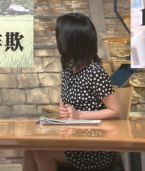 小川彩佳 太もも画像5