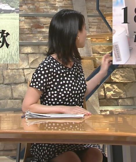 小川彩佳 太もも画像3