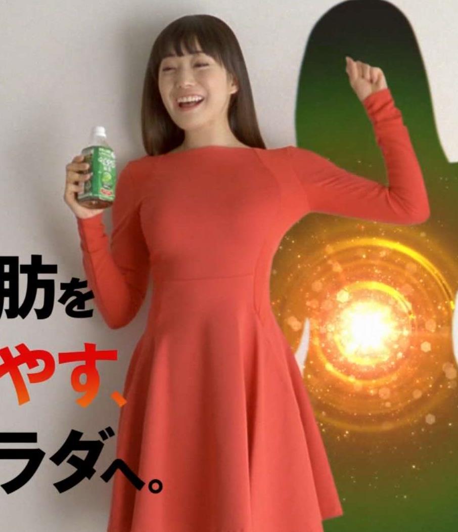 菅野美穂 おっぱいが目立つワンピースキャプ画像(エロ・アイコラ画像)