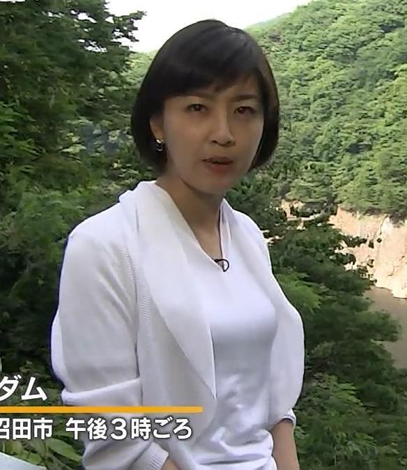 矢島悠子 エロい胸のふくらみ(報道ステーションSUNDAY)キャプ画像(エロ・アイコラ画像)