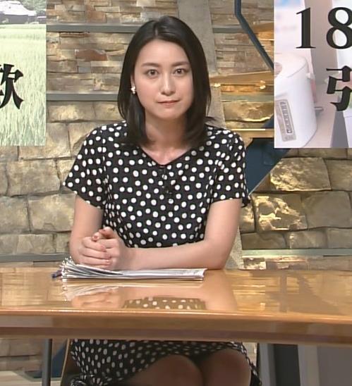 小川彩佳 太もも画像6