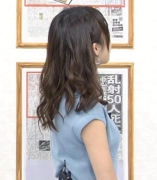 宇垣美里 横乳がいい感じキャプ画像(エロ・アイコラ画像)