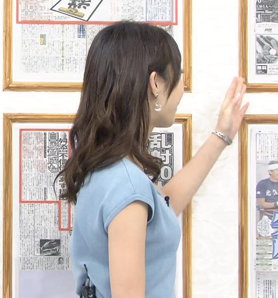 宇垣美里 横乳画像4