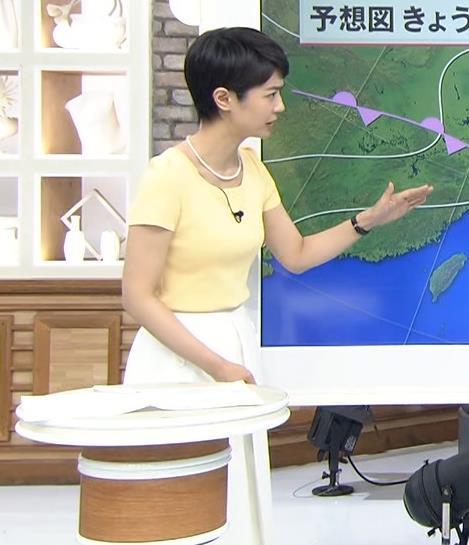 夏目三久 胸のふくらみがエロいタイトめなシャツキャプ画像(エロ・アイコラ画像)