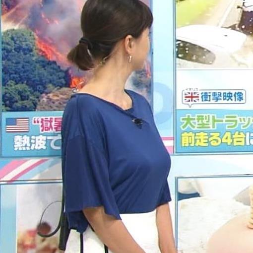 菊川怜 熟女の垂れ気味の巨乳キャプ画像(エロ・アイコラ画像)