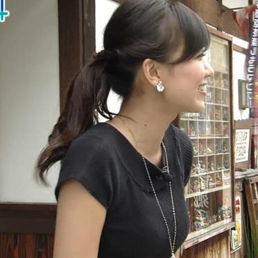 斎藤真美 形のよさそうなニットおっぱい&ミニスカで正座キャプ画像(エロ・アイコラ画像)