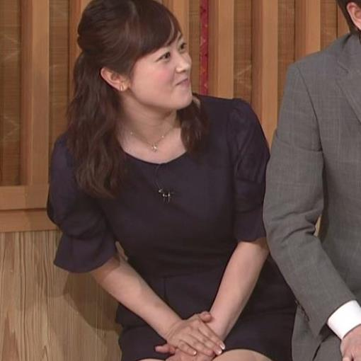 水卜麻美 ミニスカートで正座して必死にパンチラガードキャプ画像(エロ・アイコラ画像)