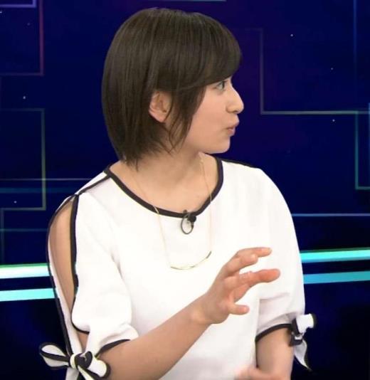 南沢奈央 袖の切れ込みがちょっとセクシーキャプ画像(エロ・アイコラ画像)