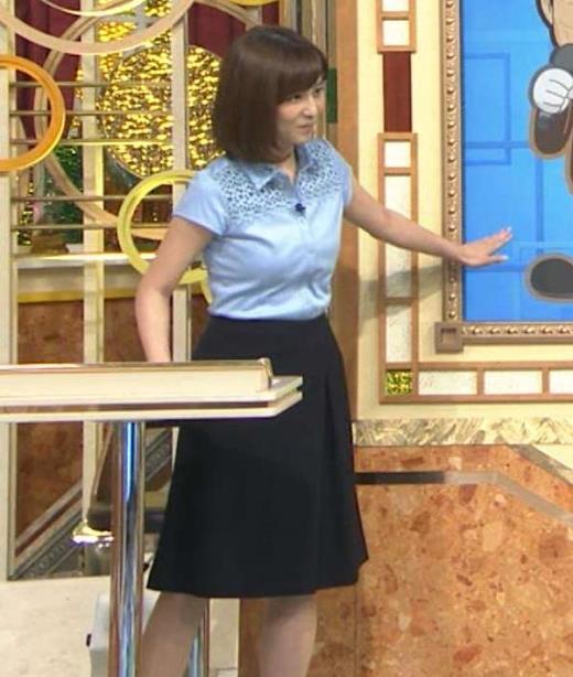 宇賀なつみ 青いシャツのおっぱいがよかったキャプ画像(エロ・アイコラ画像)