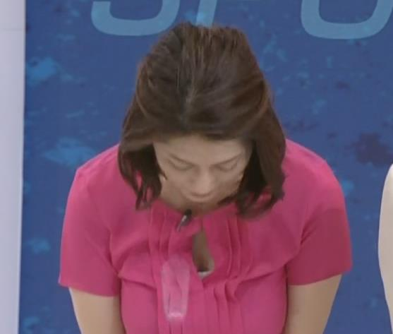 女子アナ胸チラ画像まとめキャプ画像(エロ・アイコラ画像)