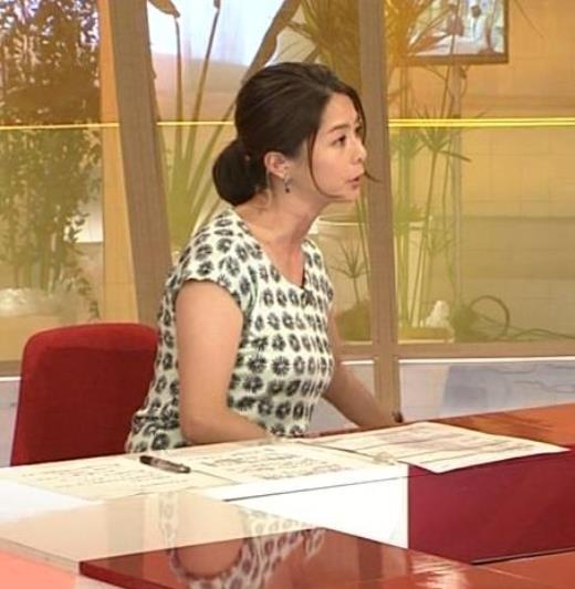 杉浦友紀 巨乳横乳「クローズアップ現代+」キャプ画像(エロ・アイコラ画像)