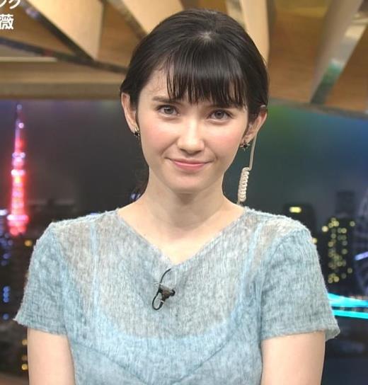 市川紗椰 巨乳キャミ透け衣装キャプ画像(エロ・アイコラ画像)