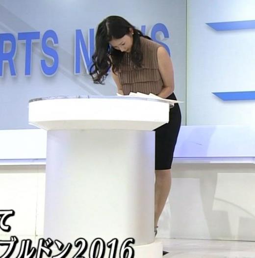 森花子 スタイルがいいNHKの美人アナキャプ画像(エロ・アイコラ画像)