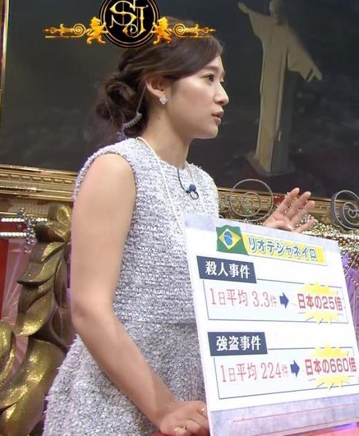 吉田明世 ノースリーブ二の腕、ちょっと太め?キャプ画像(エロ・アイコラ画像)