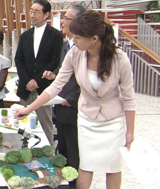 大島由香里 タイトなスーツがエロいキャプ画像(エロ・アイコラ画像)