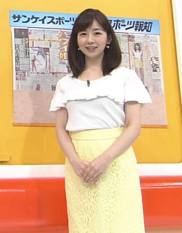 松尾由美子 胸のふくらみキャプ画像(エロ・アイコラ画像)