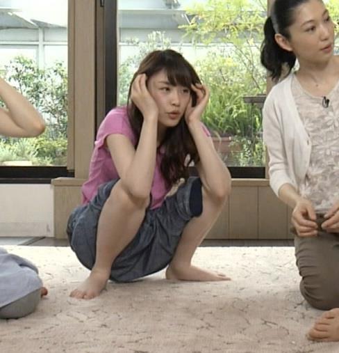 高山一実 EテレでM字開脚(乃木坂46)キャプ画像(エロ・アイコラ画像)