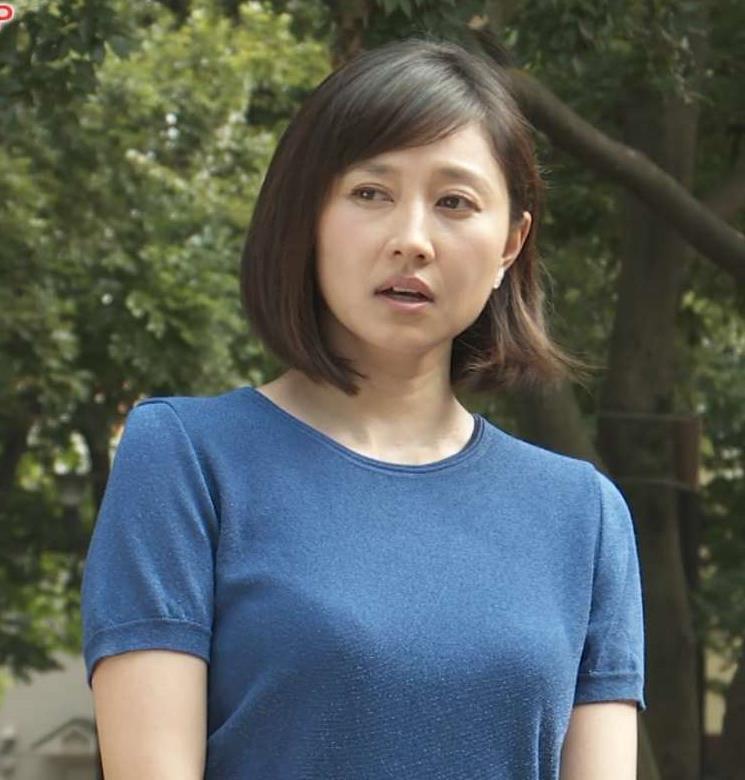菊川怜 巨乳×Tシャツ 走って乳揺れ(GIF動画あり)キャプ画像(エロ・アイコラ画像)
