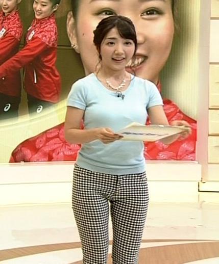 保里小百合 ピタパンがタイトすぎて股間エロ過ぎ!巨乳×Tシャツも!!キャプ画像(エロ・アイコラ画像)