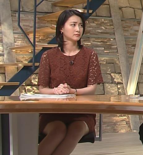 小川彩佳 太ももサービス中!キャプ画像(エロ・アイコラ画像)